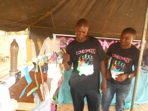 CONDOMIZE  DON'T  COMPROMISE @  the  educational  zone