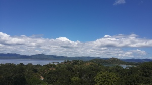Lovely  Likoma, views from St  Peter's  Bell  tower roof